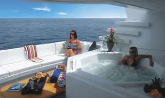Never Enough yacht charter lifestyle