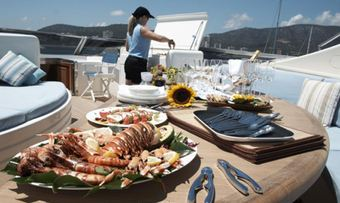 Champagne O'Clock yacht charter lifestyle