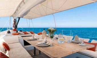 Quinta Santa Maria yacht charter lifestyle