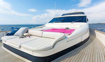 Alfea yacht charter lifestyle
