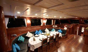 Princess Karia IV yacht charter lifestyle