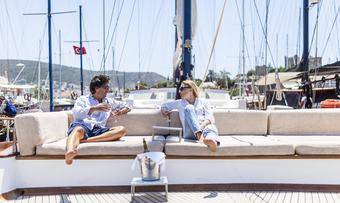 Papa Joe yacht charter lifestyle