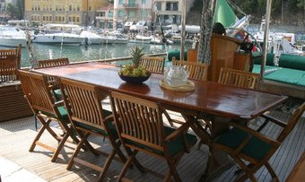 Lady Christa yacht charter lifestyle