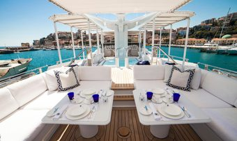 Oceana I yacht charter lifestyle