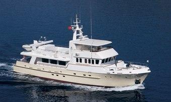 Tivoli yacht charter Turquoise Yachts Motor Yacht