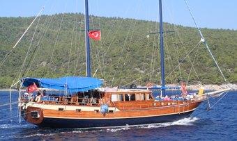 Aragon yacht charter Bozburun Shipyard Motor Yacht
