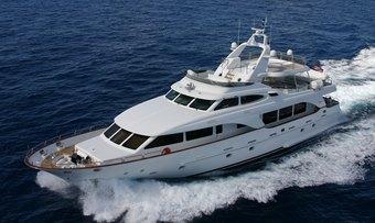 Anypa yacht charter Benetti Motor Yacht