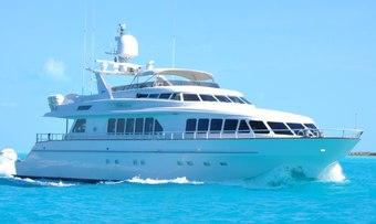 Ready II Play yacht charter Trinity Yachts Motor Yacht
