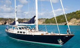 Axia yacht charter Palmer Johnson Sail Yacht