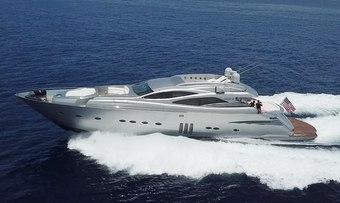 YCM 90 yacht charter Pershing Motor Yacht