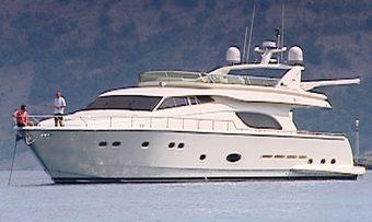 Armonia yacht charter Ferretti Yachts Motor Yacht