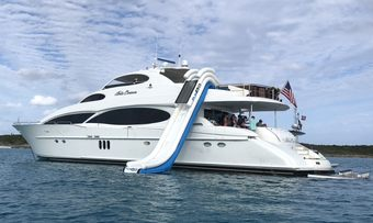Bella Contessa yacht charter Lazzara Motor Yacht