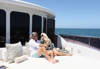 Mia Elise II yacht charter lifestyle