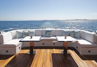 Infinity Pacific yacht charter lifestyle