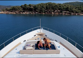 Pandora yacht charter lifestyle