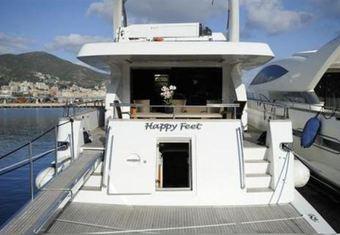 Happy Feet yacht charter lifestyle