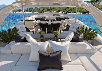 Sun Glider II yacht charter lifestyle