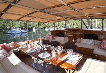 Eugenia VII yacht charter lifestyle