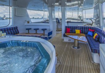 Phoenix One yacht charter lifestyle