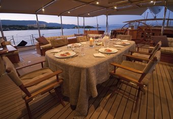 Athos yacht charter lifestyle