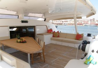 Orion yacht charter lifestyle