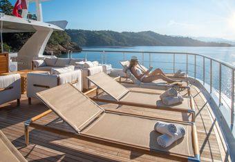 Sunrise yacht charter lifestyle