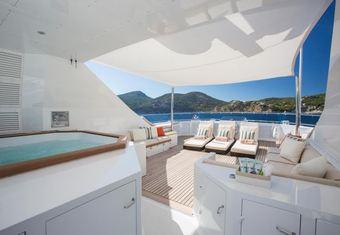 Legacy V yacht charter lifestyle