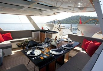 Silver Lining yacht charter lifestyle