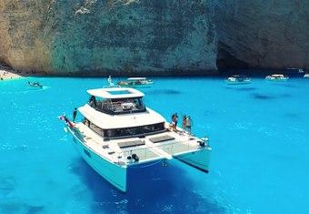 Cute Little Cat yacht charter lifestyle