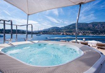 BLU 470 yacht charter lifestyle