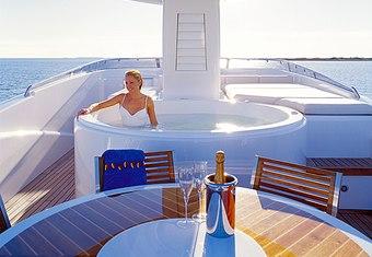 Benita Blue yacht charter lifestyle