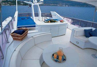 Alia 7 yacht charter lifestyle