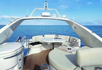 Beauty yacht charter lifestyle