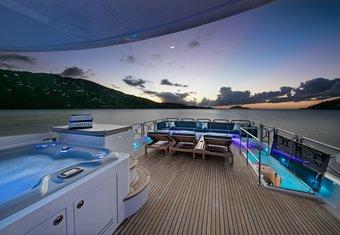 She's A Peach yacht charter lifestyle