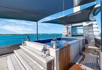 Mizu yacht charter lifestyle