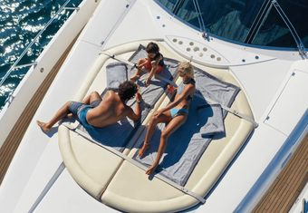 Light Blue yacht charter lifestyle