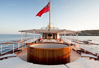 Shemara yacht charter lifestyle