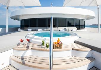 Moonlight II yacht charter lifestyle