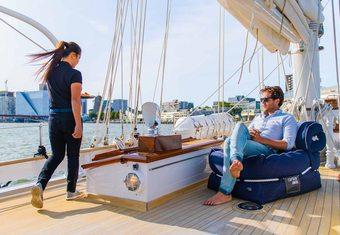 Borkumriff II yacht charter lifestyle