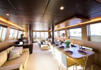 Gioe I yacht charter lifestyle