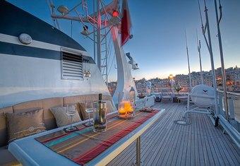 Sanssouci Star yacht charter lifestyle