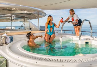 Hospitality yacht charter lifestyle