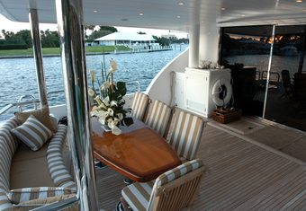 Lady Deanne V yacht charter lifestyle