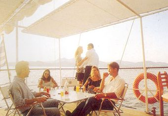 Sea Crown yacht charter lifestyle