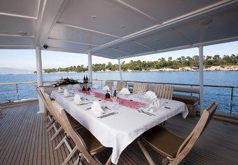 Clara One yacht charter lifestyle