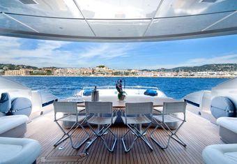 Shooting Star yacht charter lifestyle