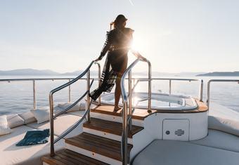 O'Mathilde yacht charter lifestyle
