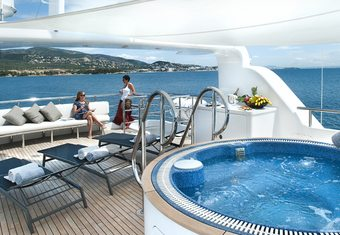 Christina G yacht charter lifestyle