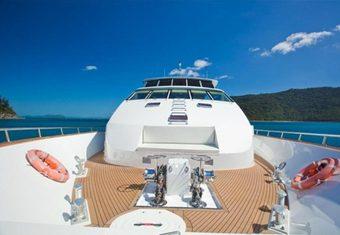 Corroboree yacht charter lifestyle