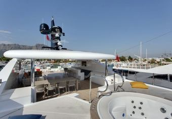 Bebe yacht charter lifestyle